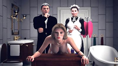 bdsm anal spanking lezdom..