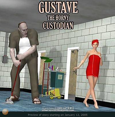 Gustave the horny Custodian