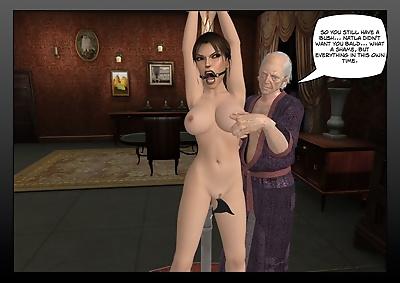 Lara Croft in the hands of..