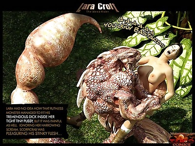 3D: Lara Croft. The Weed..