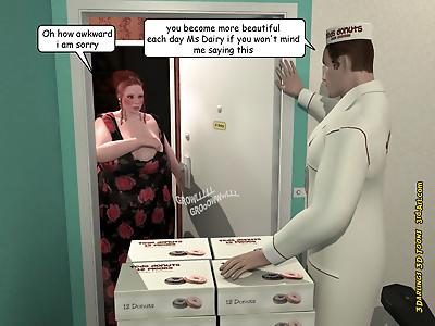 3Darlings Model Nadia eat..