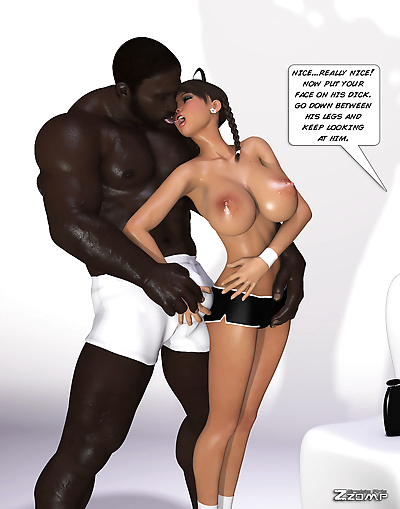 Maria First Interracial Scene