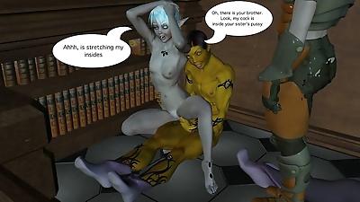 the sex elf quest 4 - part 6