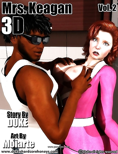 Mrs. Keagan 3D Vol.2- Duke..