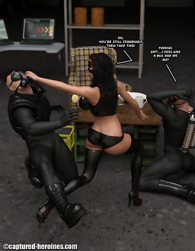 Captured Heroines –..