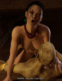 DarkSoul3D - Tomb Raider - The Death Mask of Kuk Bahlam - part 5